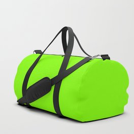 color chartreuse Duffle Bag
