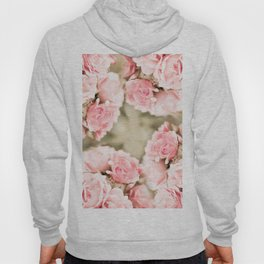 Vintage rose bouquet sepia toned flowers Hoody