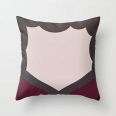 Deanna Troi - Minimalist Star Trek TNG The Next Generation - 1701 D - startrek - Trektangles Throw Pillow