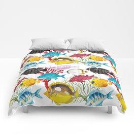 Coral Reef #1 Comforters