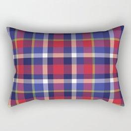 Preppy Plaid Rectangular Pillow