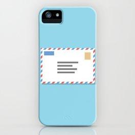 #46 Airmail iPhone Case