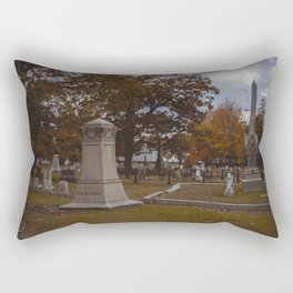 Andrew Borden's Grave - Fall River, Massachusetts Rectangular Pillow
