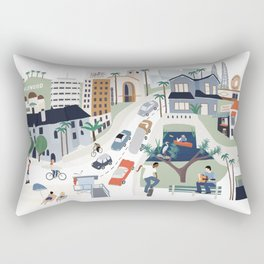 Los Angeles Rectangular Pillow