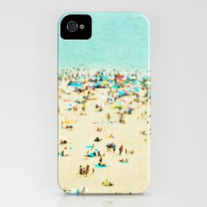 Coney Island Beach iPhone (4, 4s) Slim Case