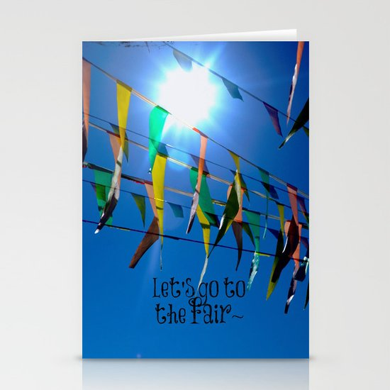 Let's go to the fair Stationery Cards
