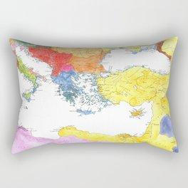 The Ancient Mediterranean Rectangular Pillow
