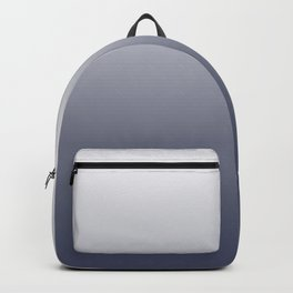 Ombre River Bed White Backpack