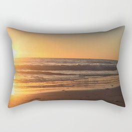 Treasure Island Sunset Rectangular Pillow