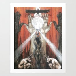 The Empress - Tarot Card Art Art Print
