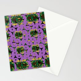 Contained Sky Flame Pinwheels Stationery Cards
