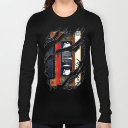 Retro cassette mix tape Long Sleeve T-shirt
