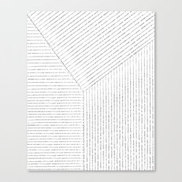 Lines Art Canvas Print