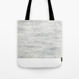 Gray Wool Tote Bag