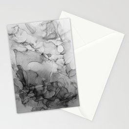 Harmony in Black and White Stationery Cards
