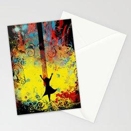 midnight symphony Stationery Cards