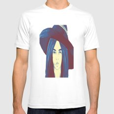Woman 1 Mens Fitted Tee MEDIUM White