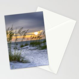 Sunset over Anna Maria Island Stationery Cards