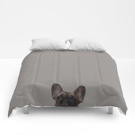 Peepers the French Bulldog II Comforters