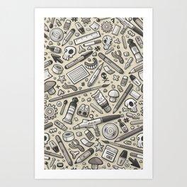 Graphic lab SP Art Print