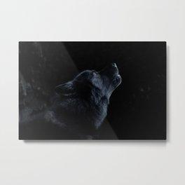 Wolfsong Metal Print