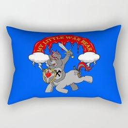 MY LITTLE WAR BEAR Rectangular Pillow