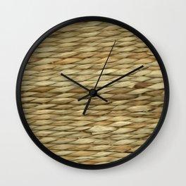 Weaved texture Wall Clock