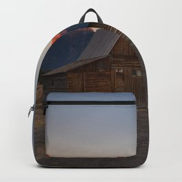 Moulton Barn - Sunrise in Grand Tetons Backpack