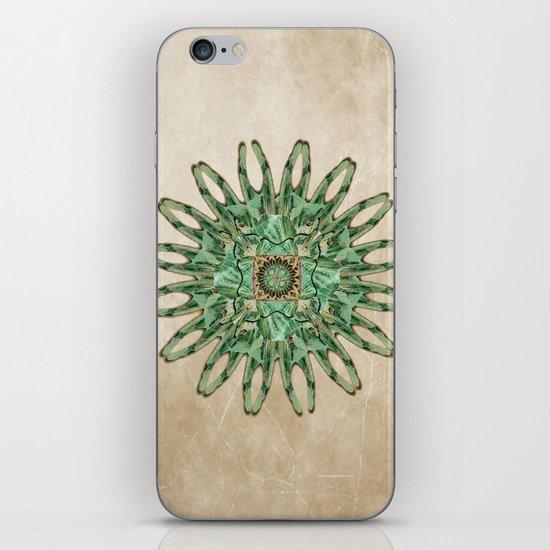 Luna Moth Circle  iPhone & iPod Skin