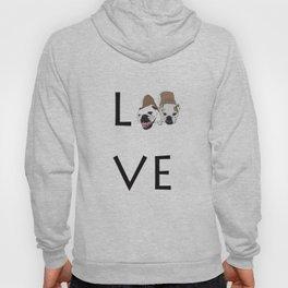 Love. English Bulldogs Hoody