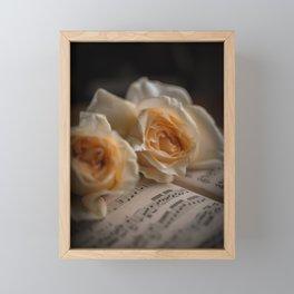 Yellow Roses Framed Mini Art Print