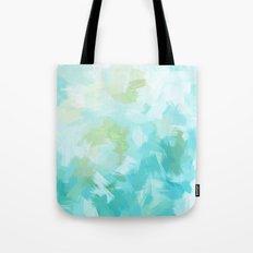 BLOSSOMS - CYAN Tote Bag