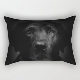 I met a girl (Black and white version) Rectangular Pillow