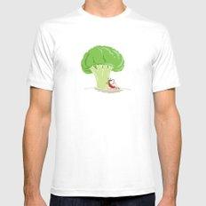 Cauliflower Tree MEDIUM Mens Fitted Tee White