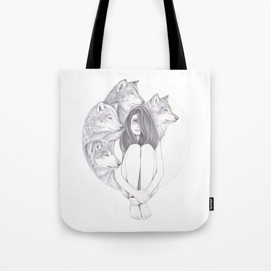 Company Of Wolves Tote Bag