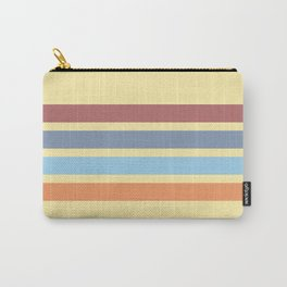 Bright Timeless Stripes Britus Carry-All Pouch