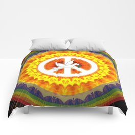 CND Peace and Love Comforters