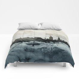 Edinburgh Scotland Skyline Comforters