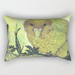 kakapo watercolor Rectangular Pillow
