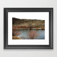 Yakima River Framed Art Print