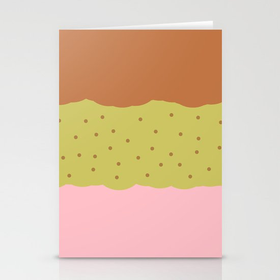 Spumoni  Stationery Cards