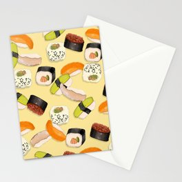 Sushi Party Stationery Cards