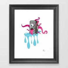 Monster Camera Framed Art Print