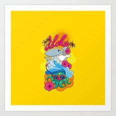 Haloa Art Print