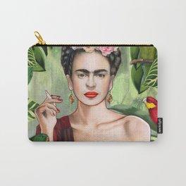 Frida con Amigos Carry-All Pouch