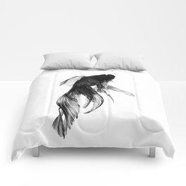Black Moor Goldfish Comforters