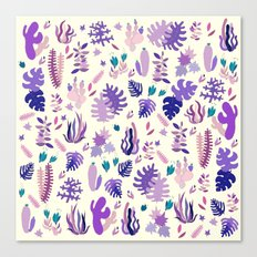 Purple Garden Canvas Print