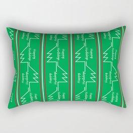 Happy Holidays Rectangular Pillow