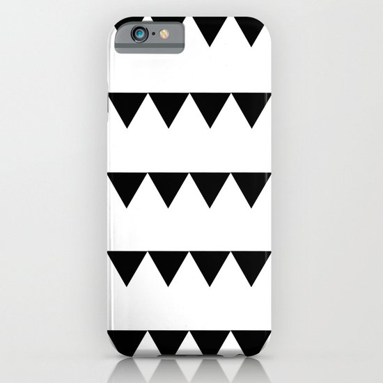 TRIANGLE BANNERS (Black) iPhone & iPod Case