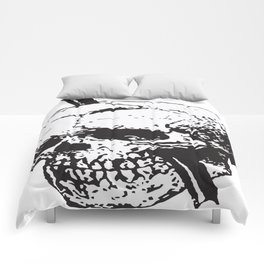 Frontal Lobotomy Skull Of Phineas Gage Vector Isolated Comforters